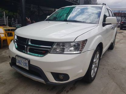 Foreign Used Dodge Journey 2015 Model White for Sale