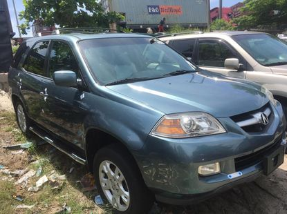 Acura MDX 2006 Model Foreign Used Blue for Sale