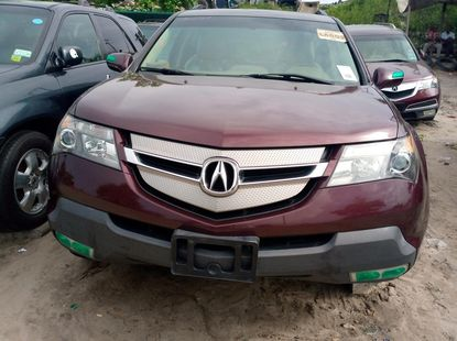 2008 Acura MDX Foreign Used Red for Sale