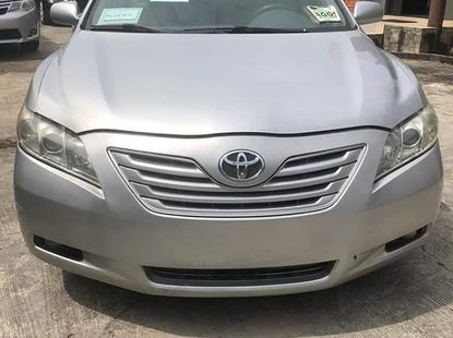 Used Toyota Camry Foreign 2007 Model Silver for Sale