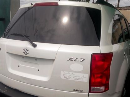 2008 SUZUKI XL7 Foreign Used White for Sale
