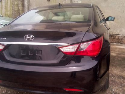 2010 Hyundai Sonata Foreign Used  Black for Sale