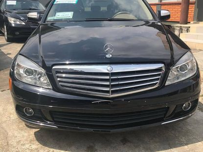 Mercedes Benz 300 2008 Model Foreign Used Black