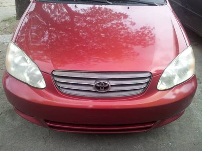 Used Toyota Corolla Foreign SE 2014 Model Red