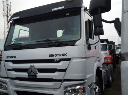 Foreign Used Howo 371 Truck Head 2007 Model White
