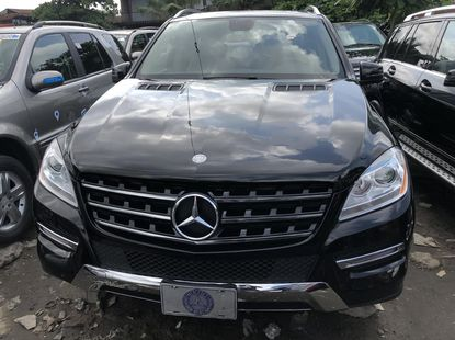 Mercedes Benz ML350 Foreign Used 2012 Model Black