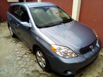 Used Toyota Matrix Foreign 2005 Model Blue for Sale