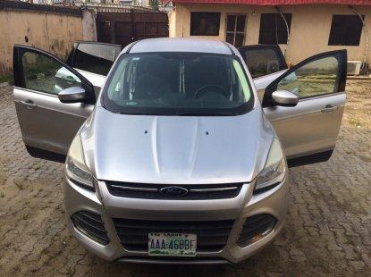 Ford Escape 2013 Model Nigeria Used Silver