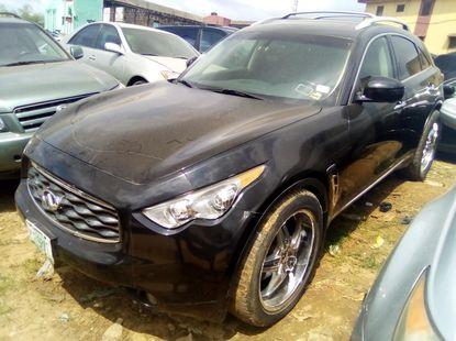 Used Infinity FX 2008 Model Foreign Black for Sale