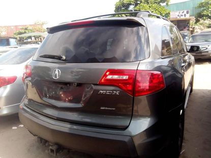 Foreign Used Acura MDX 2009 Model Green