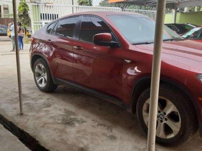 Nigeria Used BMW X6 2011 Model Red