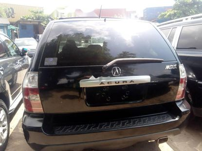 Foreign Used Acura MDX 2003 Petrol Automatic Black