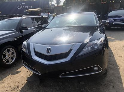 Foreign Used Acura ZDX 2011 Model Black for Sale