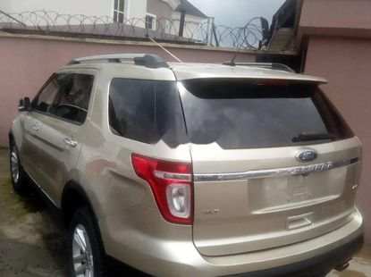 Foreign Used Ford Explorer 2011 Model Gold