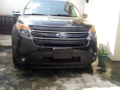 Foreign Used Ford Explorer 2012 Model Black