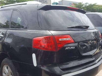 Foreign Used Acura MDX 2008 Model Black