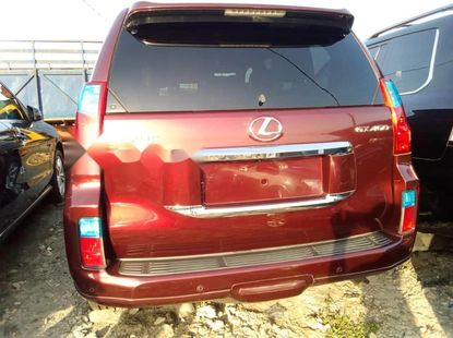 Nigeria Used Lexus GX 2010 Model Red