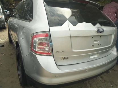 Foreign Used Ford Edge 2010 Model Silver
