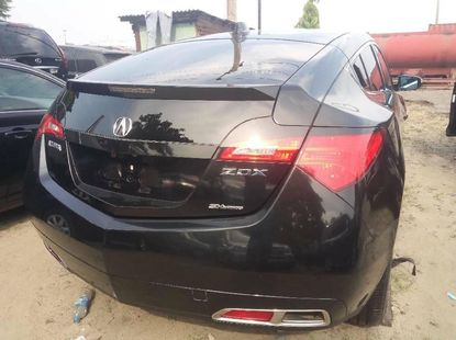 Foreign Used Acura ZDX 2013 Model Black