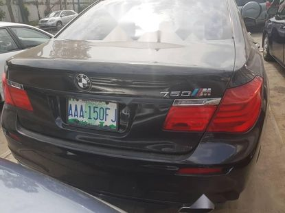 Nigeria Used BMW 7 Series 2011 Model Black