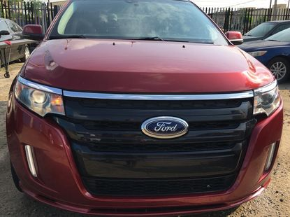 Foreign used 2013 Ford Edge Sport