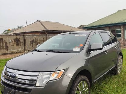 Foreign Used Ford Edge 2010 Model Gray