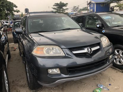 Foreign Used Acura MDX 2006 Model Green for Sale