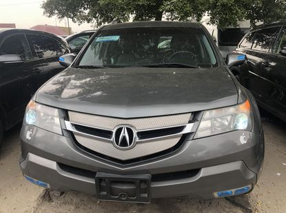 Foreign Used Acura MDX 2008 Model Gray for Sale