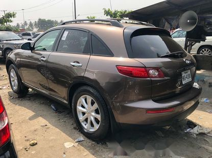 Clean Foreign used 2007 Infiniti FX