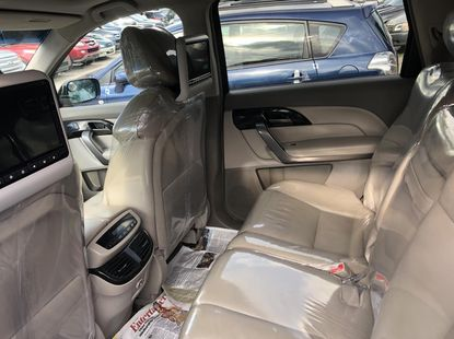 Foreign Used Acura MDX 2008 Model Blue for Sale