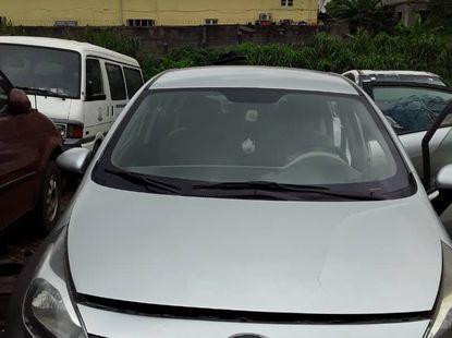 Nigeria Used Kia Rio 2012 Model Silver for Sale