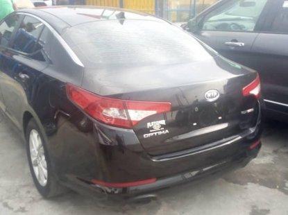Foreign Used Kia Optima 2012 Model Black
