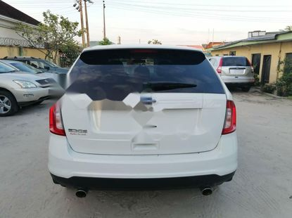 Foreign Used Ford Edge 2013 Model White