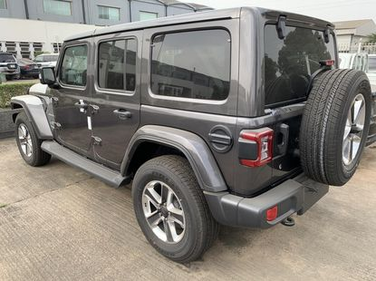 Foreign Used Jeep Wrangler 2019 Model Gray
