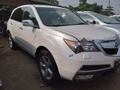 Foreign Used  Acura MDX 2010 Model White
