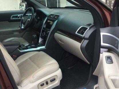 Nigeria Used Ford Explorer 2015 Model Blue