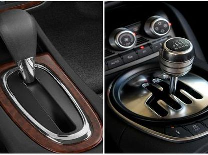Why are some automatic transmission shift straight and some are zigzag?
