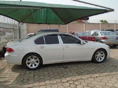 Nigeria Used BMW 7 Series 2006 Model White