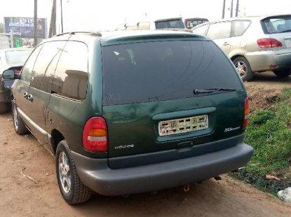 Foreign Used Dodge Caravan 2000 Model Blue