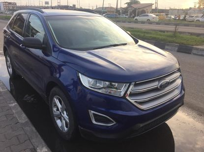 Foreign Used Ford Edge 2016 Model Blue for Sale