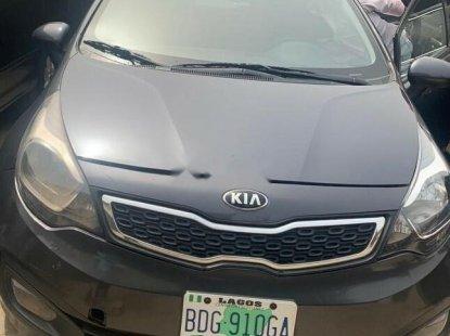 Nigeria Used Kia Rio 2012 Model Gray for Sale