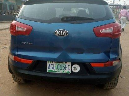 Nigeria Used Kia Sportage 2012 Model Blue