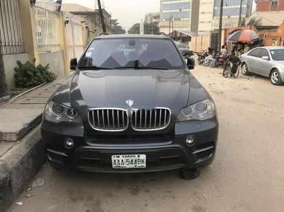 Nigeria Used BMW X5 2013 Model Gray