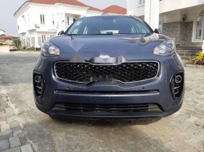 Nigeria Used Kia Sportage 2019 Model Blue