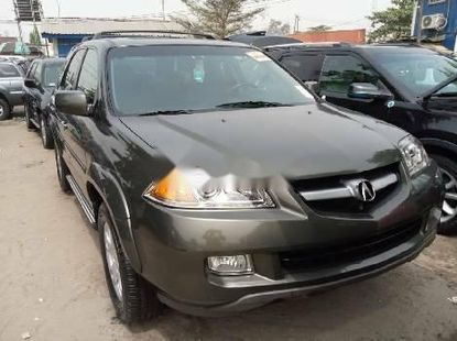 Foreign Used Acura MDX 2005 Model Green
