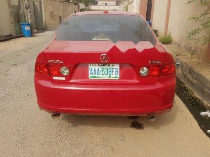 Nigeria Used Acura TSX 2006 Model Red
