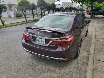 Nigeria Used Honda Accord 2016 Model Red for Sale