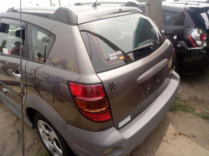 Foreign Used Pontiac Vibe 2008 Model Brown