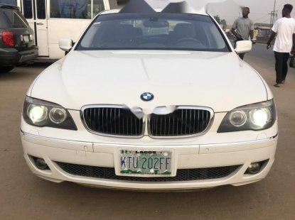 Nigeria Used BMW 7 Series 2007 Model White