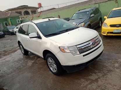 Foreign Used Ford Edge 2008 Model White